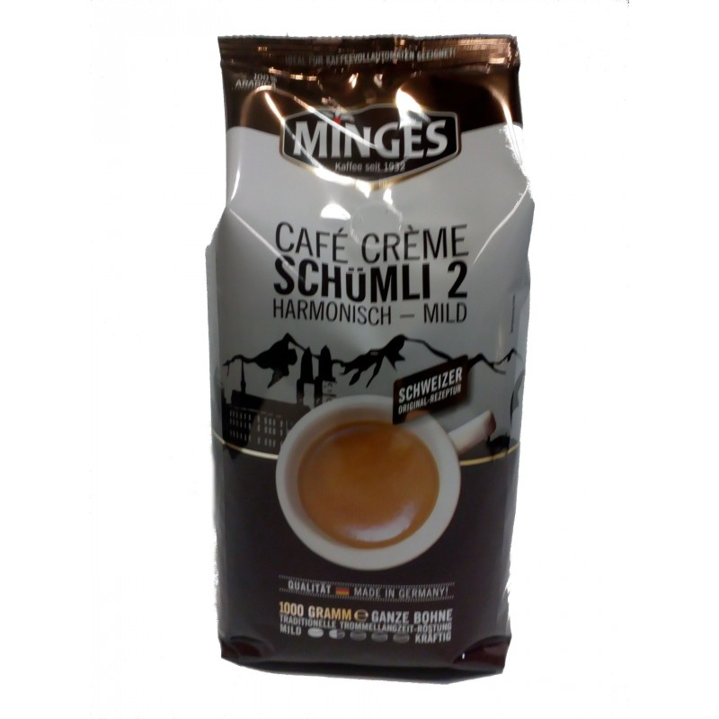 Minges Cafe Creme Schumli 2 - 1000g